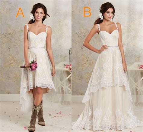 Designer Vs High Ballet Inspired Black And Pink by Discount Two Styles Lace Country Wedding Dresses High Low