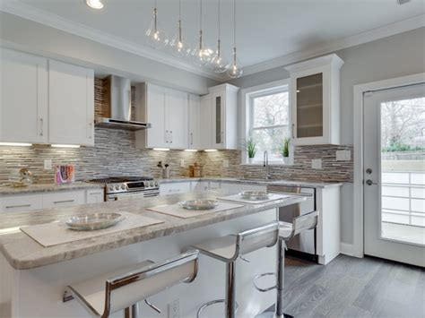 White Kitchen Remodeling Ideas 14th Street Washington Dc Transitional Kitchen By