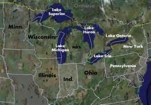 us map great lakes names fishing and fishing maps for the us great lakes