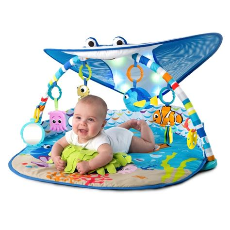 baby play gym with lights and music disney baby finding nemo mr ray ocean lights activity gym
