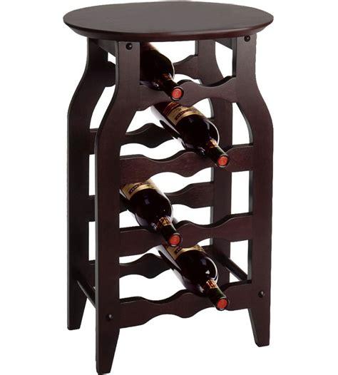 Side Table Wine Rack In Wine Racks
