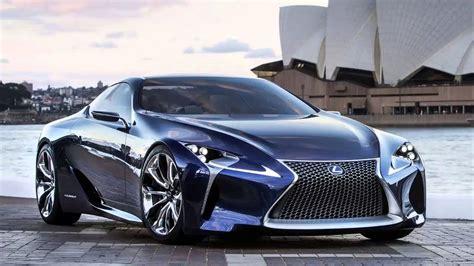 lexus lf lc blue hybrid concept  hp hd youtube