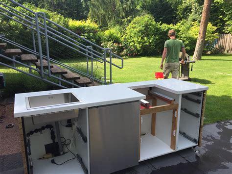 Diy Outdoor Küche Ideen by Outdoor K 252 Che Ikea Haus Design Ideen