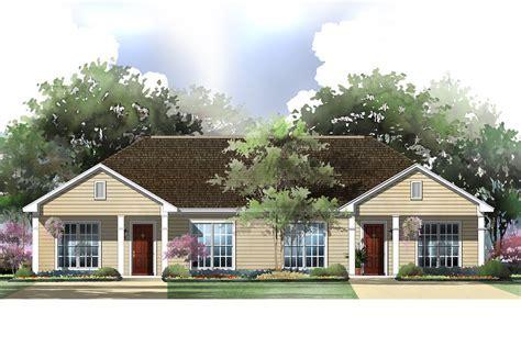 Multi Unit House Plan #142 1037: 2 Bedrm, 1800 Sq Ft Per