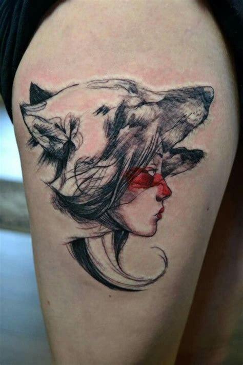 best 25 princess mononoke tattoo ideas on pinterest