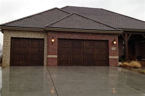 Custom Overhead Door Custom Garage Doors Wichita Albert S Custom Door Wichita Ks
