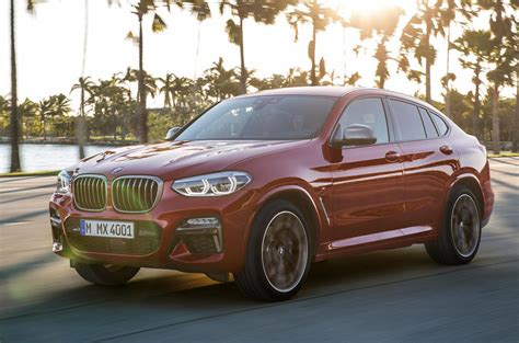 New Bmw X4 2018 by 2018 Bmw X4 New Swept Back Suv Sets Sights On Evoque