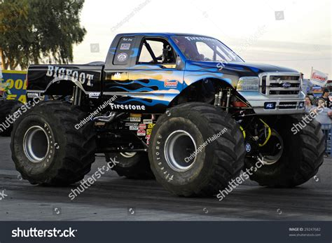 shutterstock stock bigfoot monster chandler az april 25 the monster truck quot bigfoot quot at