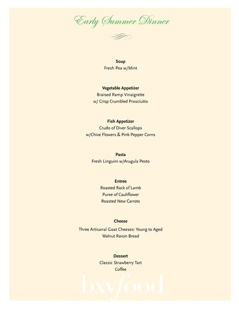 easy elegant dinner menus elegant christmas dinner party menu ideas memes