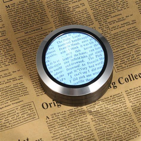 led desktop magnifier multifunctional reading glass
