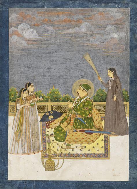 biography of mughal emperor muhammad shah file emperor muhammad shah lacma ac1997 127 1 jpg