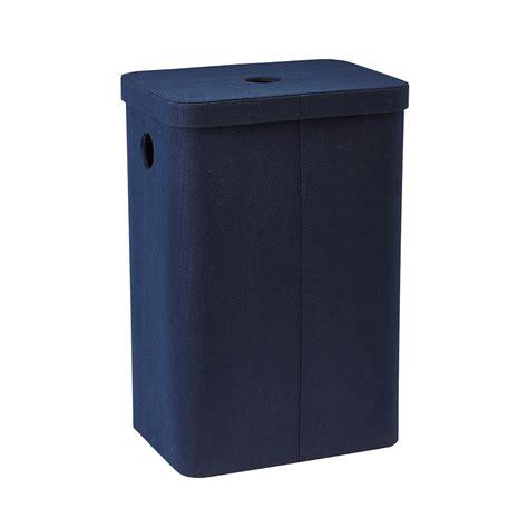 bathroom laundry bins buy aquanova imago laundry bin dark blue amara