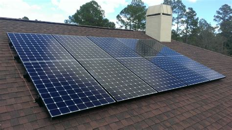 Solar Panel Curtains Sunpower Array Callahan Florida Florida S Solar Progress