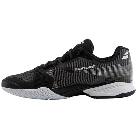 babolat jet ac mens tennis shoes footwear 2017 black white