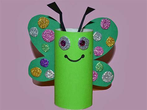 ideas para hacer manualidades con ni os usando palitos de helado mariposa multicolor manualidad de reciclaje para ni 241 os