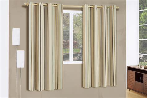 cortinas de poliester cortina corta luz 2 metros listrado bege 1 pe 231 as