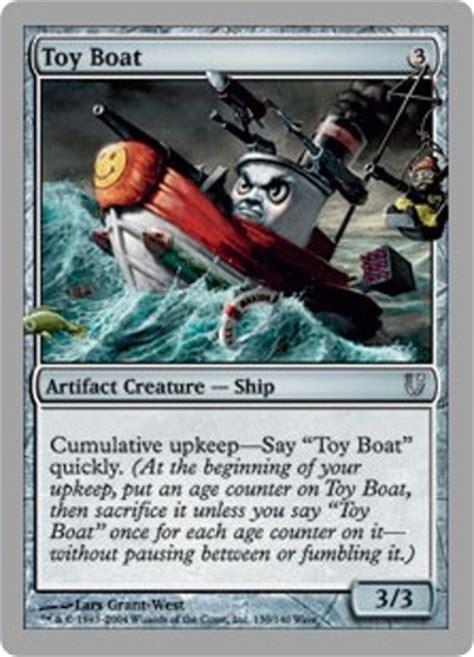 free mtg unhinged toy boat magic the gathering card - Toy Boat Magic