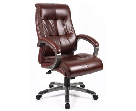 Leather Office Desk Chair Tufted Leather Office Chair Decor Ideasdecor Ideas