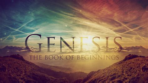 what is the book of genesis sermons