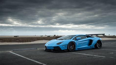 Lamborghini, LB Performance, Car, Blue Cars, Liberty Walk