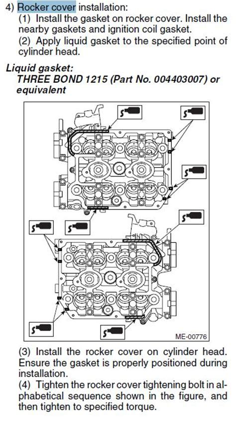 subaru forester valve cover gasket replacement 1997 subaru legacy engine 1997 free engine image for