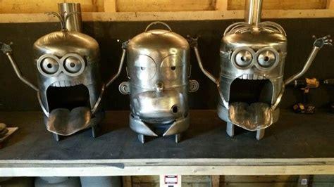 minion chiminea minion and homer chiminea gas bottle log burner stove