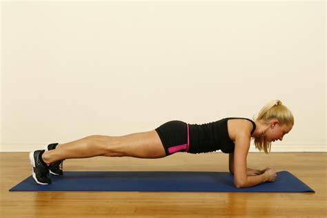 plank excercises 5 minute beginner ab workout for flatter tummy