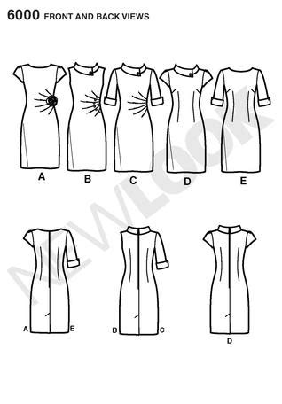 pattern review new look 6000 new look 6000 misses dresses