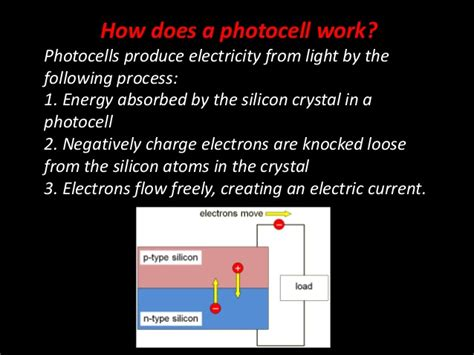 how does photodiode works introduction to photocells