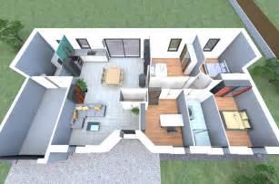 plan 3d d un de nos mod 232 les de avec 4 chambres un
