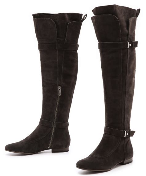 Flat Shoes Cynthia Bernice 595 office wear hilary duff in thigh high boots and