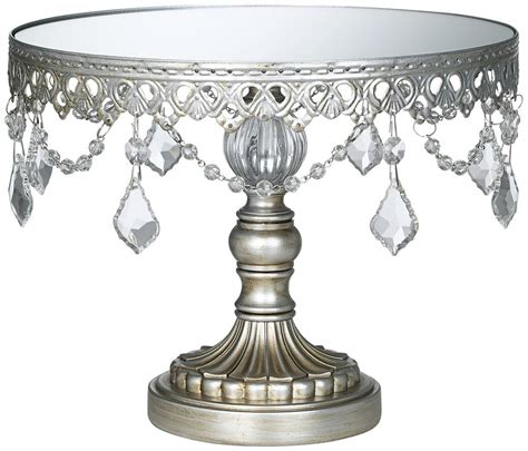 Antique Silver Beaded Small Cake Stand Gift