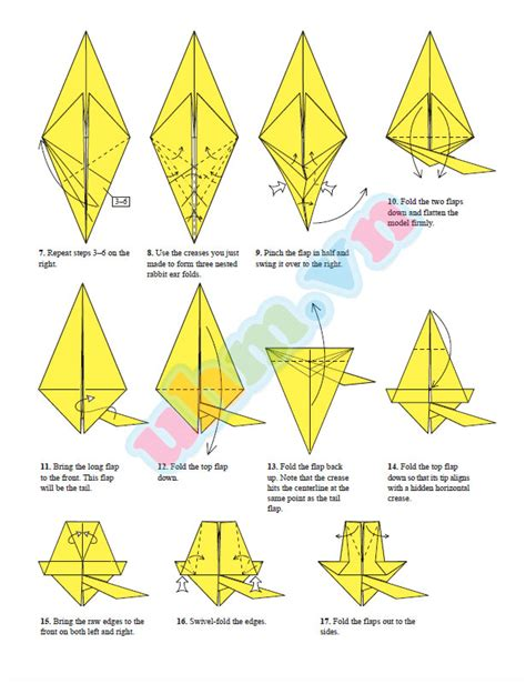 how to make an origami pikachu step by step origami images images