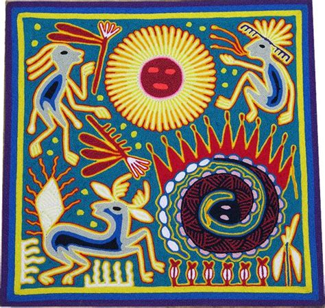 Mexican String - 1000 images about huichol string paintings on