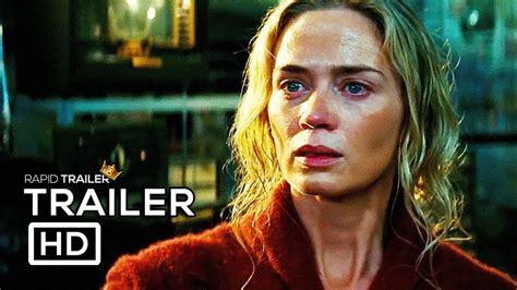 emily blunt trailer a quiet place official trailer 2 2018 emily blunt john