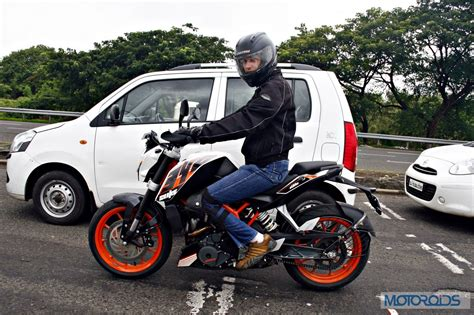 Ktm Duke 390 Road Test Jump 2ch