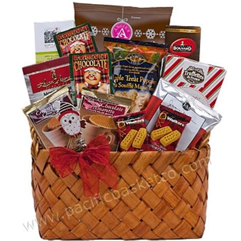 seasonal sweets holiday gift baskets made in vancouver