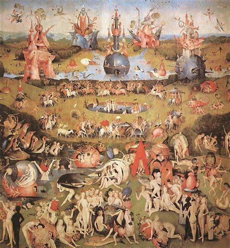 Garten Der Lüste Interpretation by Hieronymus Boschs Triptychen