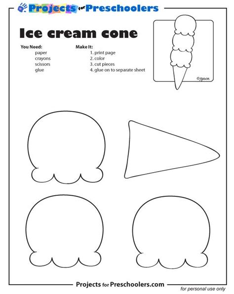 345 Best Images About School Ice Cream On Pinterest Cut And Paste Activities And File Vipkid Lesson Plan Template