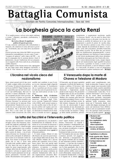 Battaglia Comunista | Leftcom