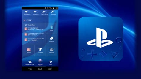 playstation 4 app sony updates ps4 companion app for ios and android