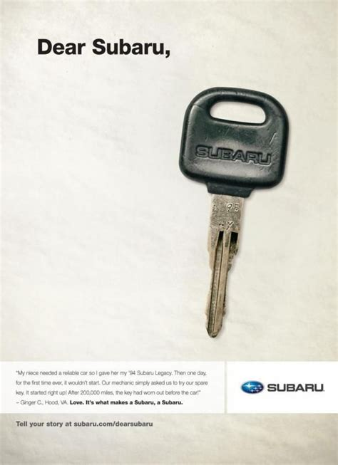 Subaru Ad Agency by 52 Best Subaru Ads Images On Ads Advertising