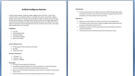 project synopsis template project synopsis sle images frompo