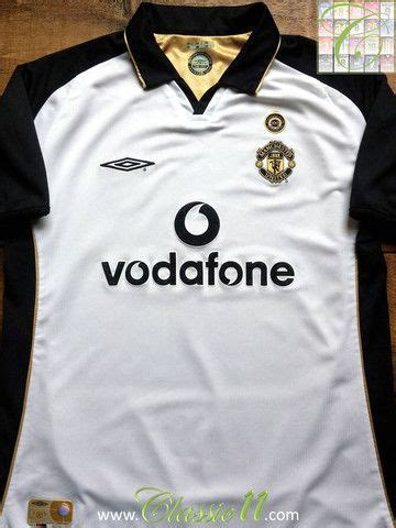 Jersey Mu Away 01 02 Centenary Reversible 17 best images about soccer jerseys on seasons vintage and manchester united football