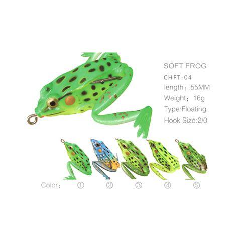 Skirt Untuk Jump Frogsoft Frog jumping soft frog lure wholesale bass fishing lure frog baits