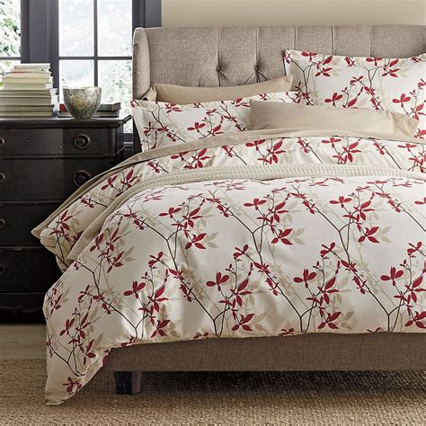 the company store bedding shadow vine flannel duvet and sham the company store