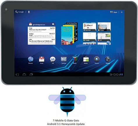 t mobile android update t mobile s g slate gets android 3 1 honeycomb update gadgetian