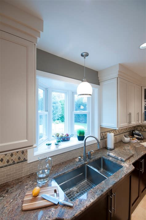 Kitchen Sink Light Lighting Kitchen Sink Kitchen Traditional With Appliances Cabinets Frame And