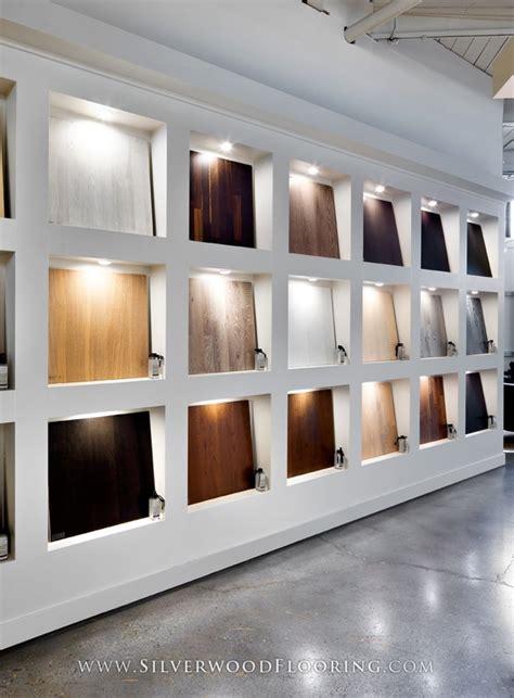 pattern wall display silverwood flooring showroom karelia wall silverwood