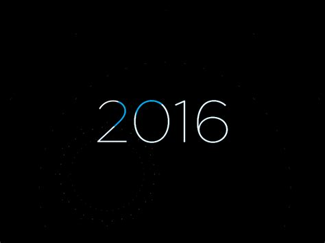 happy new year gif 2016 happy new year 2016 by hector heredia dribbble